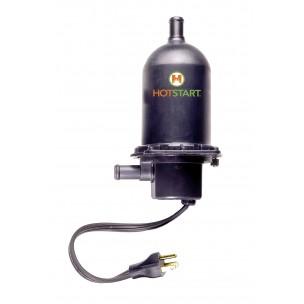 TPS | 500-2000W 1-fazowa grzałka silnikowa z termostatem HOTSTART