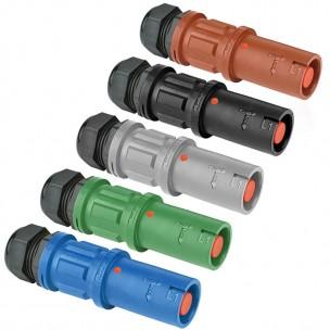 Zestaw mini gniazd kablowych PowerSyntax SPZ LS 400 A (5szt)
